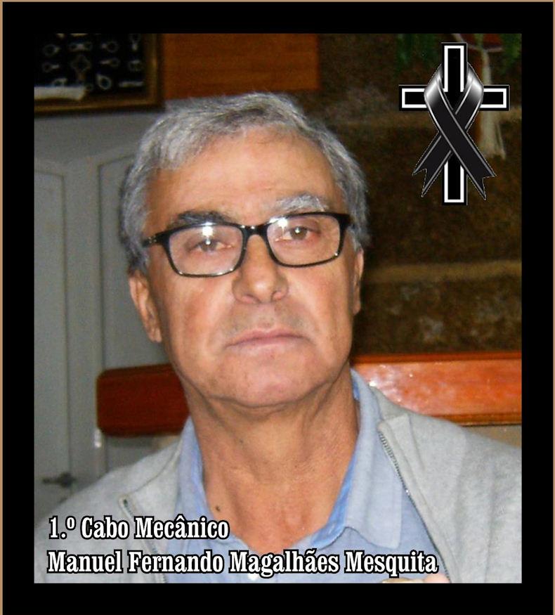 Faleceu o veterano Manuel Fernando Magalhães Mesquita, 1.º Cabo Mecânico, do ERec3432 - 1.ª fase Manuel27