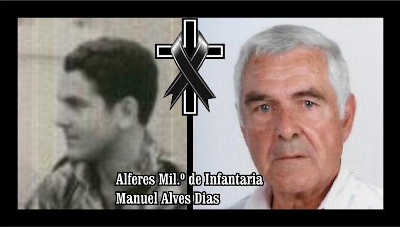 Faleceu o veterano Manuel Alves Dias, Alferes Mil.º de Infantaria, da CCac1458/BCac1866 - 03Jan2020 Manuel28