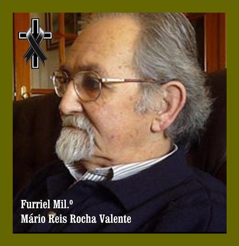 Faleceu o veterano Mário Reis Rocha Valente, Furriel Mil.º, da CCS/BCac1935 - 24Jul2019 Mzerio10