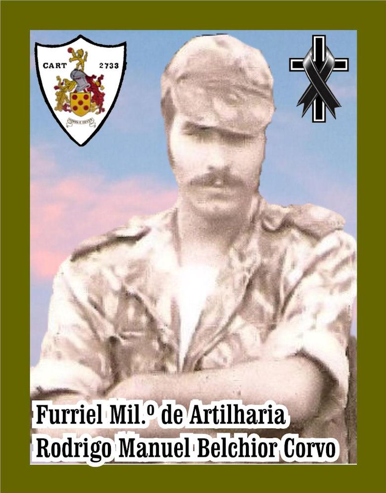 Faleceu o veterano Rodrigo Manuel Belchior Corvo, Furriel Mil.º, da CArt2733 - 02Abr2021 Rodrig10