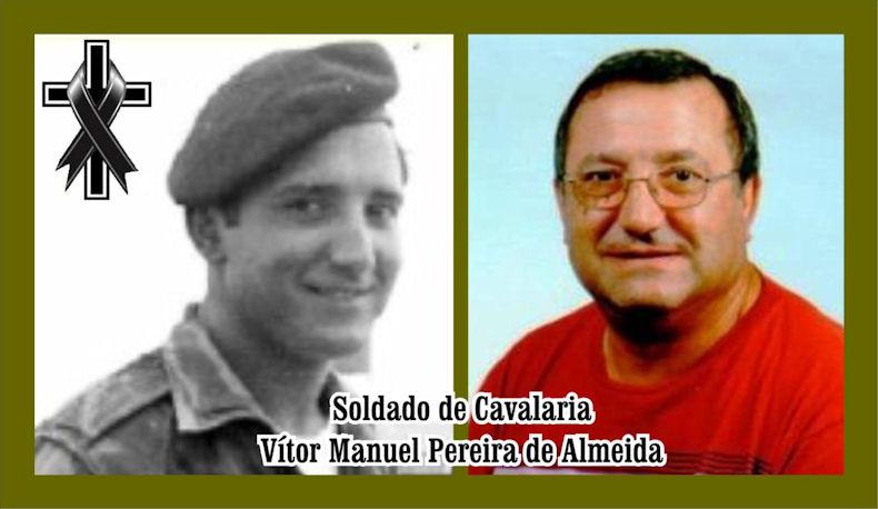 Faleceu o veterano Vítor Manuel Pereira de Almeida, Soldado de Cavalaria, CCS/BCav3862 - 27Jul2020 Vzytor10