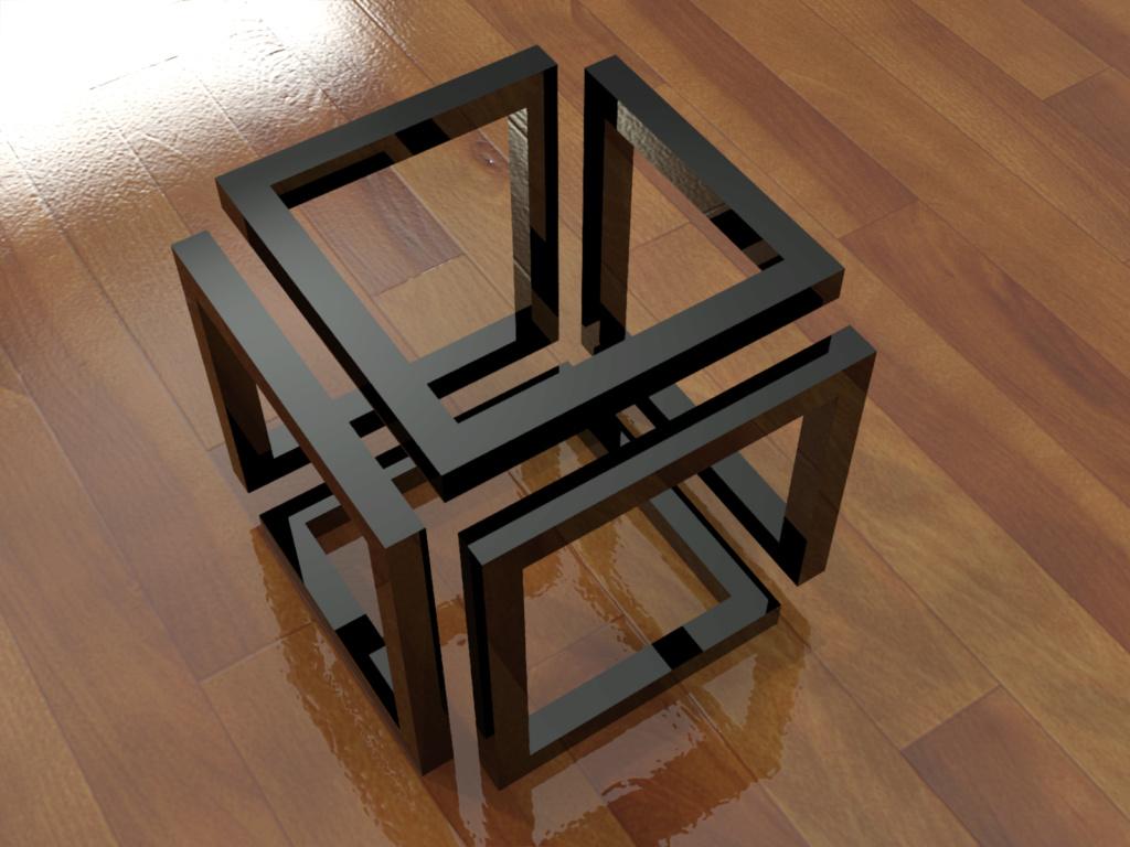 [練習]AutoCAD 3D立體圖形-習題06 0211