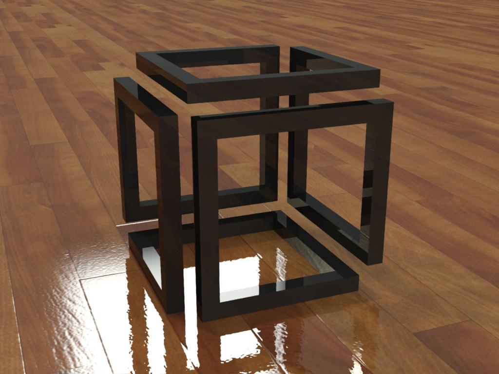 [練習]AutoCAD 3D立體圖形-習題06 0311