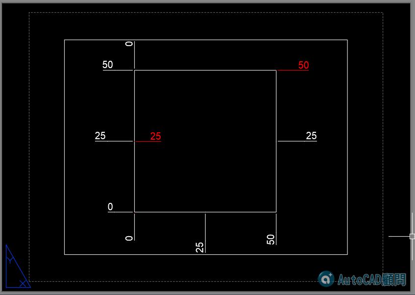 [已解決]請問AUTOCAD2019版本配置的視埠中設定UCS後,座標標註有問題! 2019_127