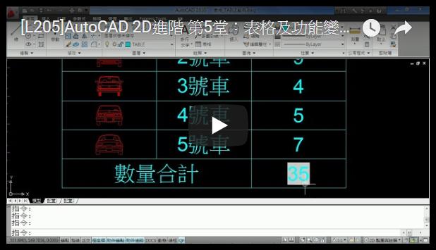 [影片]AutoCAD 2D進階 - 線上課程-開班中 2019_136