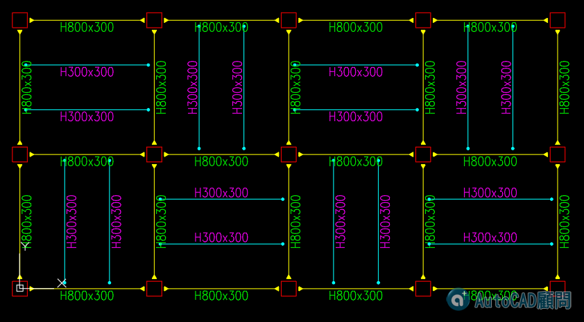 AutoCAD顧問 結構外掛-展示02 2020_038
