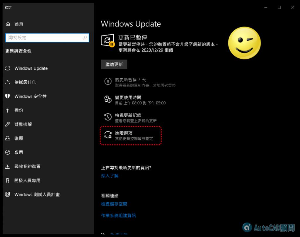 [解決方法]Windows強制更新2004版本AutoCAD災情 2020_199