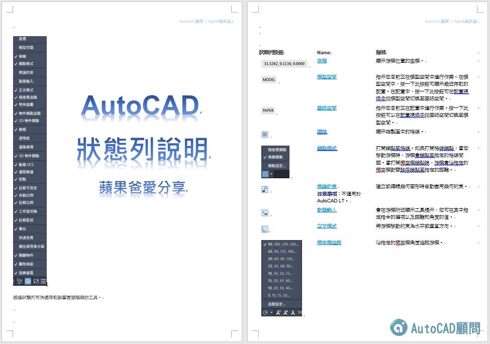 [下載]AutoCAD 狀態列說明.pdf 2021_058