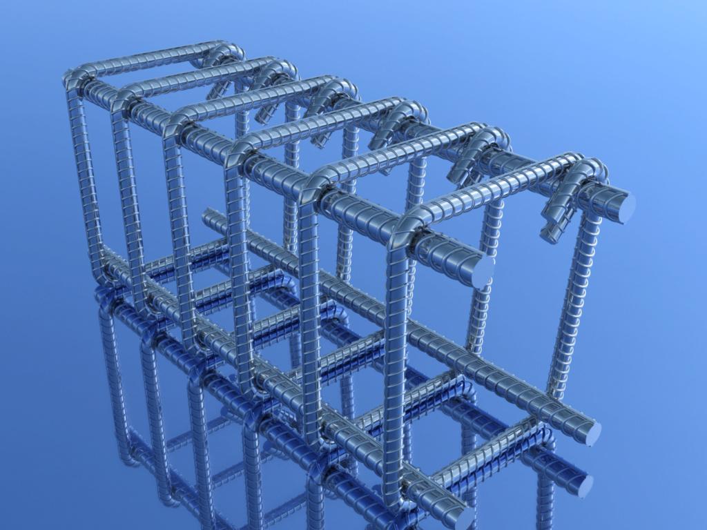 [練習]3D鋼筋範例 P186-311