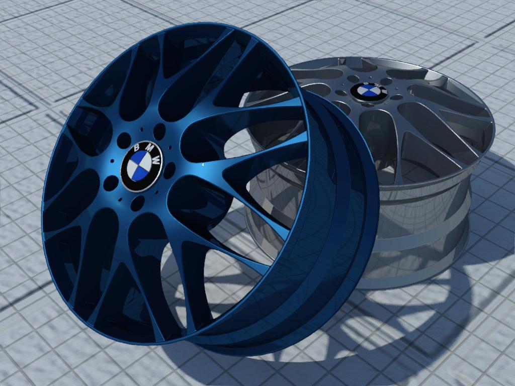 [作品]輪框-BMW Test4c10
