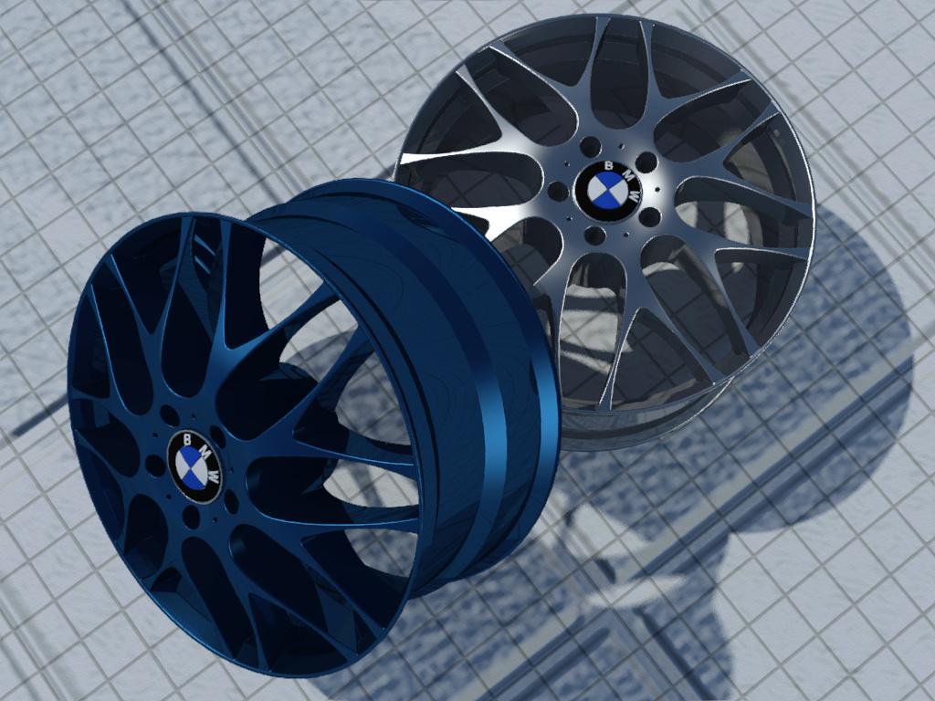 [作品]輪框-BMW Test4c11