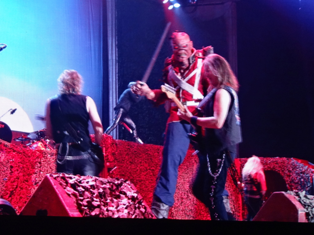 IRON MAIDEN : Paris, AccorHotels Arena, 6/7/18 Dsc03013