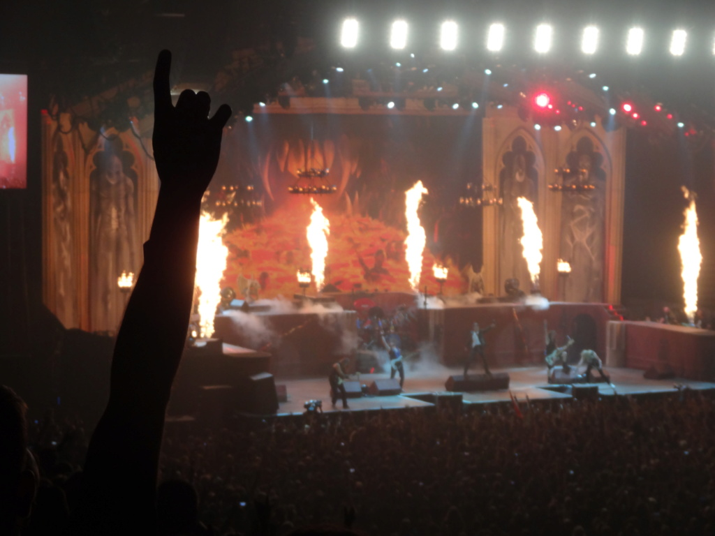 IRON MAIDEN : Paris, AccorHotels Arena, 6/7/18 Dsc03032