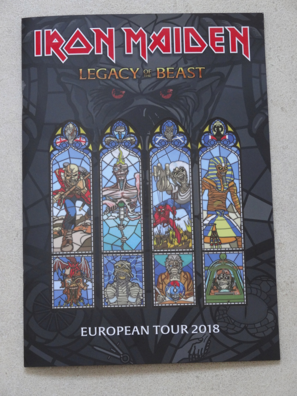 IRON MAIDEN : Paris, AccorHotels Arena, 6/7/18 Dsc03111