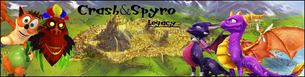 crash and spyro legacy