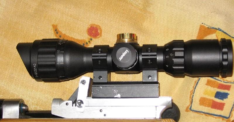 FEINWERKBAU 300S Kit MACCARI Lunette LUGER LR 8-32X44 Target Dot Leaper10