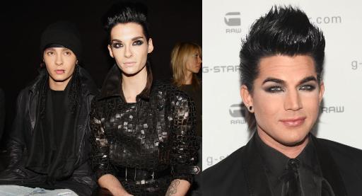 [NET/DE/Février 2010] (PromiPranger.de) Bill Kaulitz et Adam Lambert: Le duo de rêve absolu gay et glamour ! Bildeu10