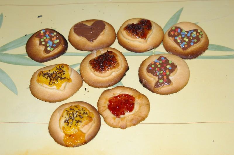 sablés à la confiture Biscui10