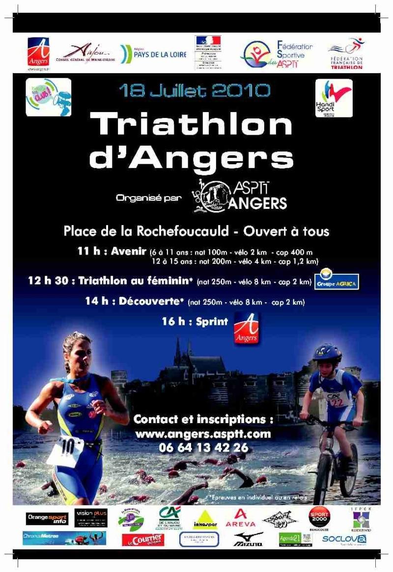 Triathlon d'Angers Affich10