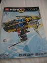 [Revue] Hero Factory 7160 : Drop Ship en première mondiale Img1410