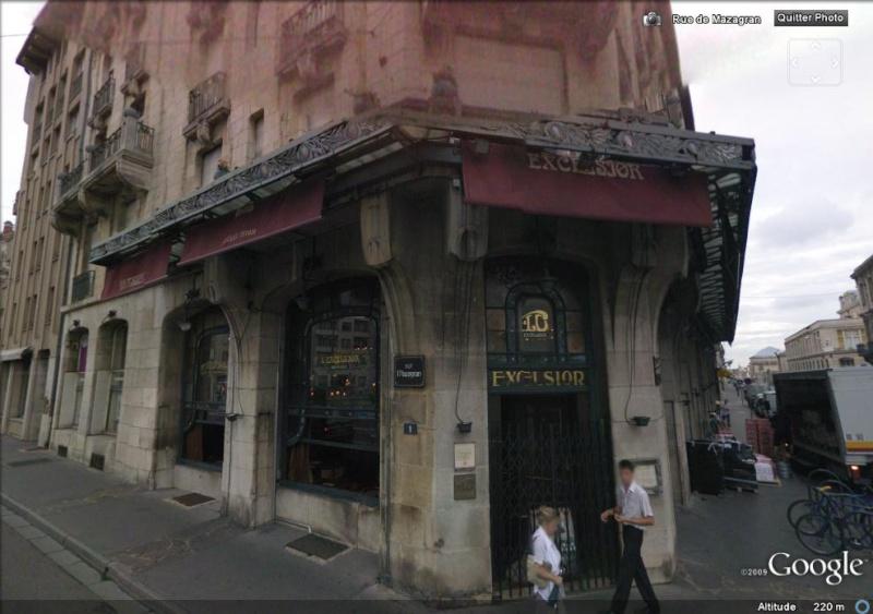STREET VIEW : bistrots et  bars Excel10