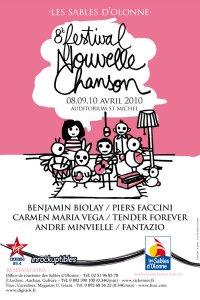 FESTIVAL NOUVELLE CHANSON LES SABLES D'OLONNE VENDEE FRANCE Festiv10