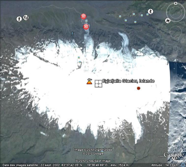 volcan - Eruption volcanique sous glacier - Eyjafjallajokull - Islande Glacie10