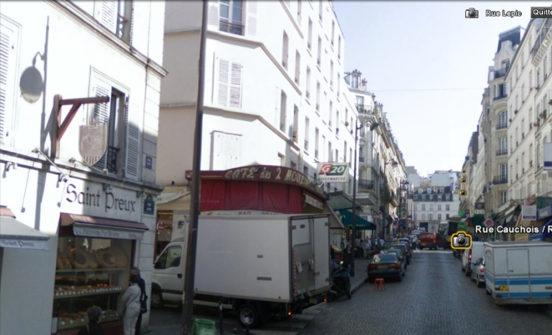 STREET VIEW : bistrots et  bars Lepic_10