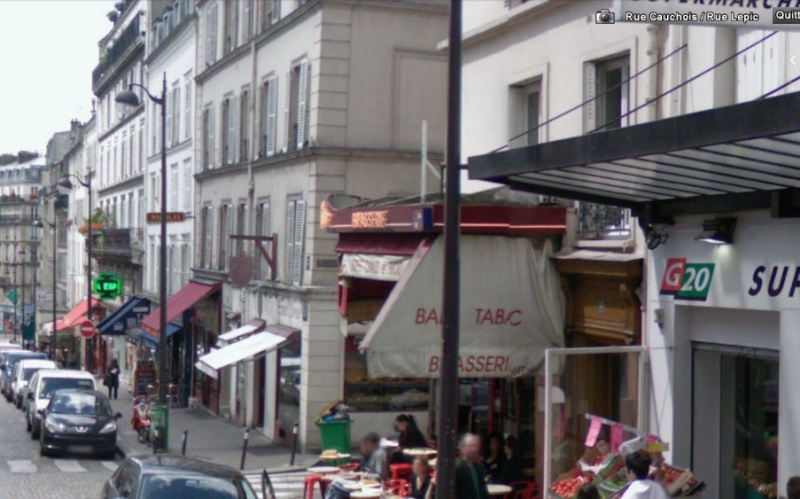 STREET VIEW : bistrots et  bars Lepic_11