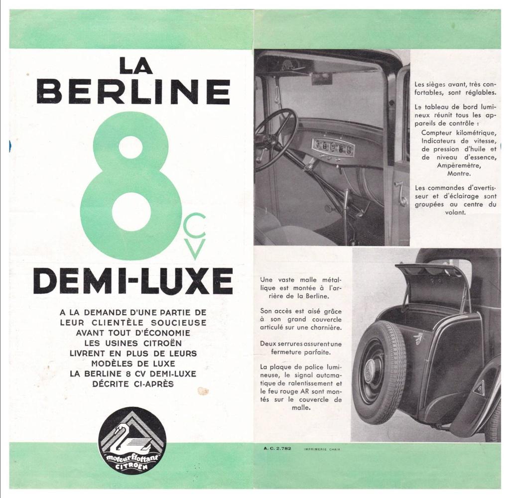 8Cv DEMI-LUXE 0211