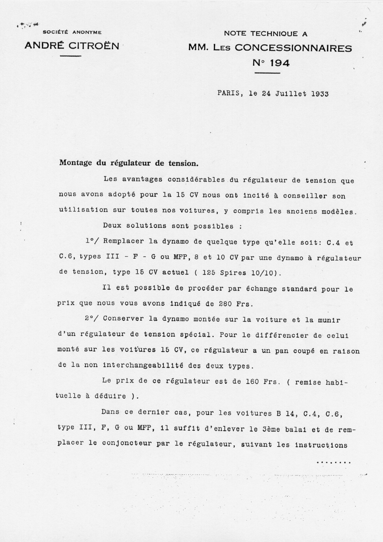 conversion rosalie 12v - Page 2 110