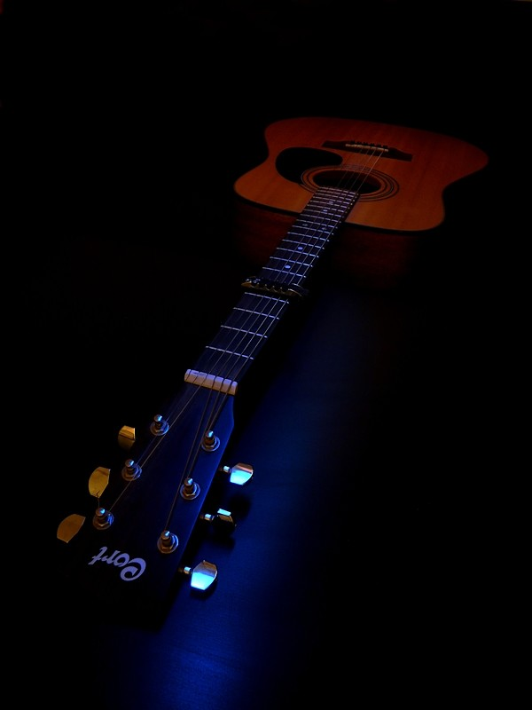 Guitare et Paint Lighting Guitar10