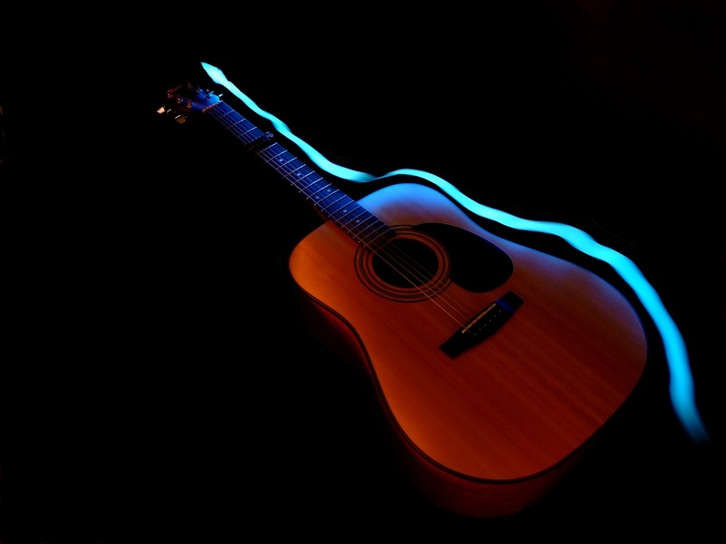 Guitare et Paint Lighting Guitar11
