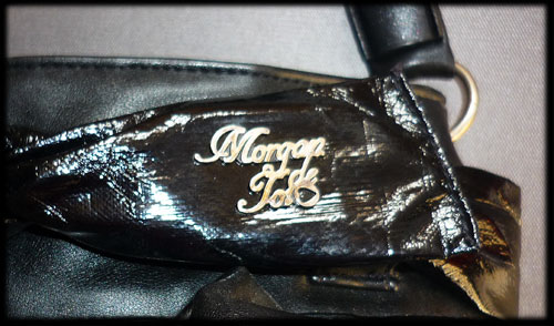Sac à main MORGAN + chapeau + ceinture & foulard VINTAGE Sac-mo12