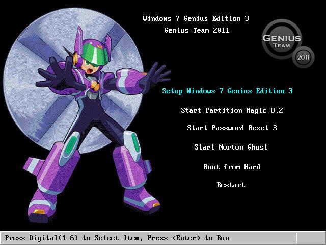 """ويندوز اكس بى الرهيب """" Windows XP 7 Genius Edition 3 """" الويندوز الاخف والاجمل والاقوى. بحجم 697 ميجا  51143610"""