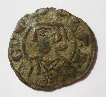 Dinero de Jaime II de Aragon Jaime_10