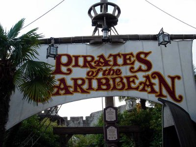 Pirates of the Caribbean à Disneyland Paris  Pirate10