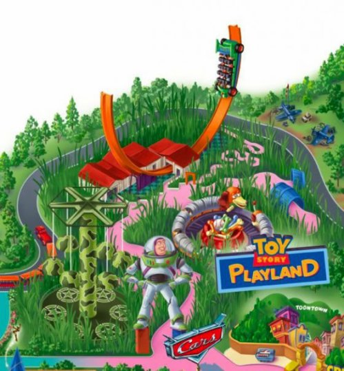 Toy Story Playland Walt Disney Studios® Park / Toon Studio Toy_st10