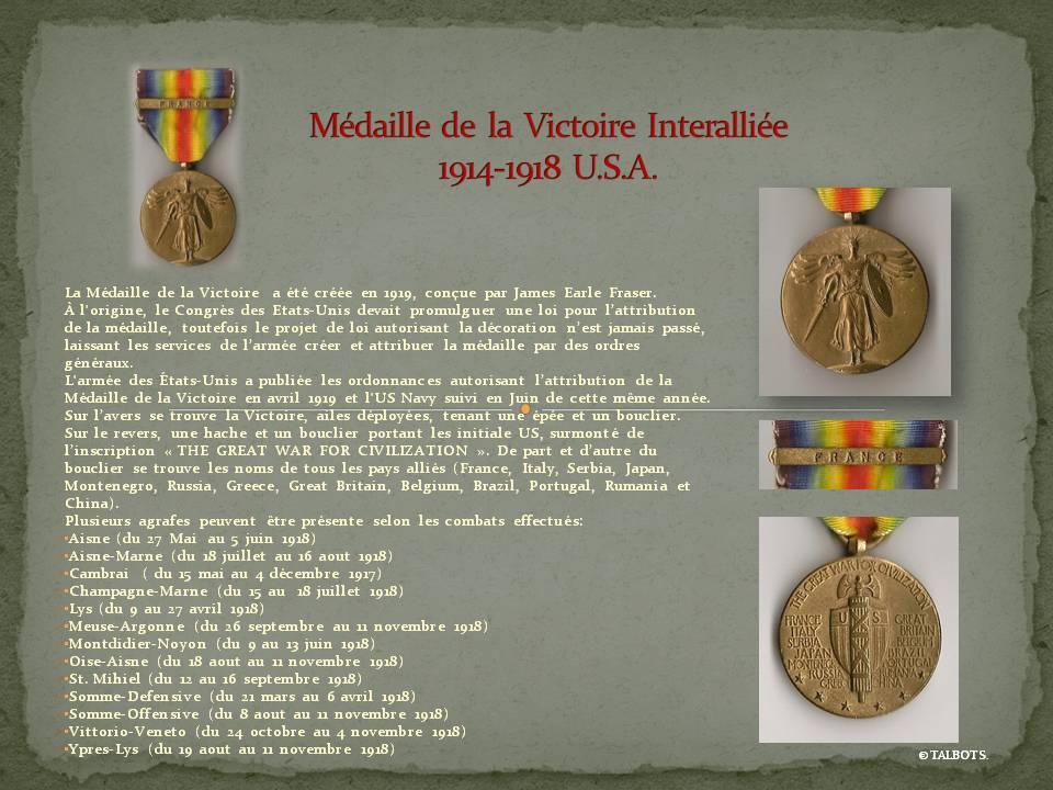 Médailles US 1914-1918 Madail16
