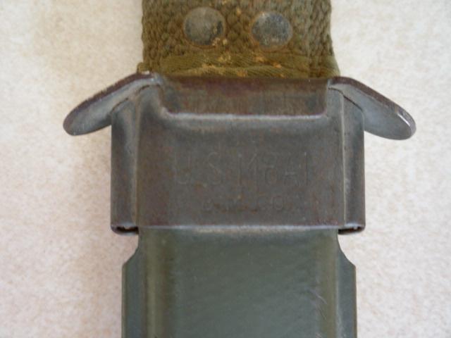 Le poignard-baïonnette USM4 - Page 2 P1030245