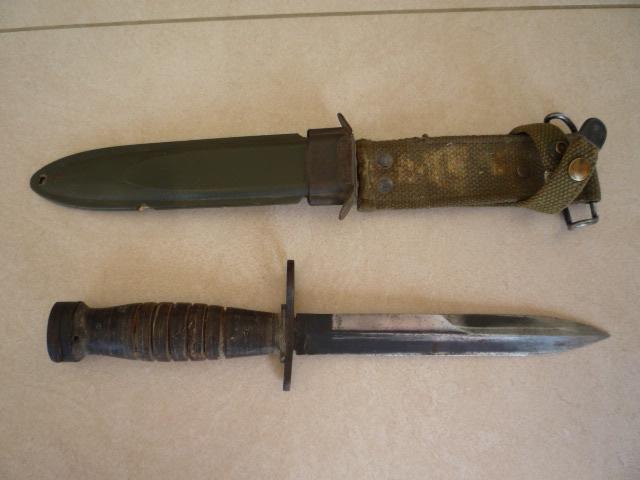 Le poignard-baïonnette USM4 - Page 2 P1030310