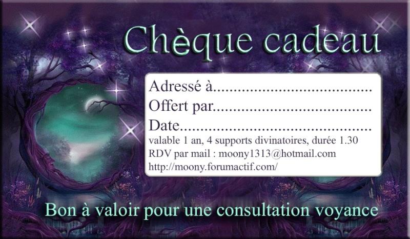 CADEAU ORIGINAL POUR LES FÊTES -  chèque-cadeau voyance Bon_ca12