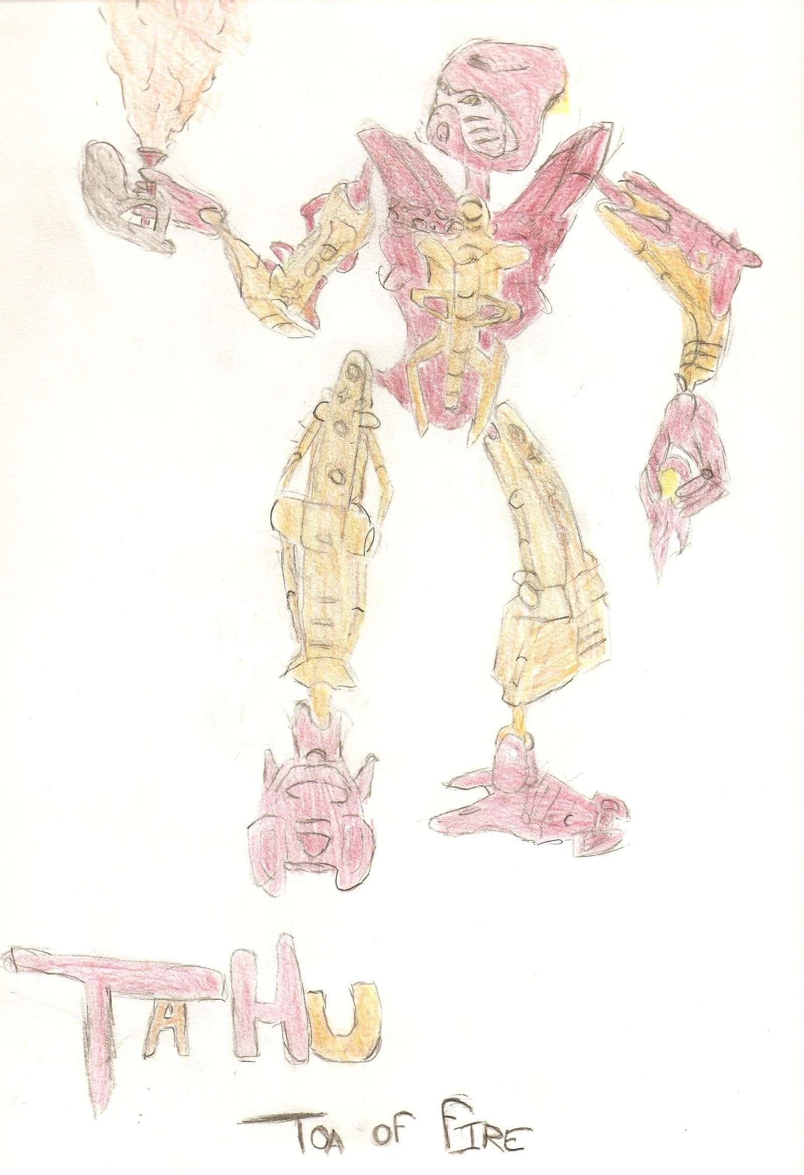 [Fan-Arts] Fan arts bioniclop18: Maudit, Rouage, Kaos Tahu_s11