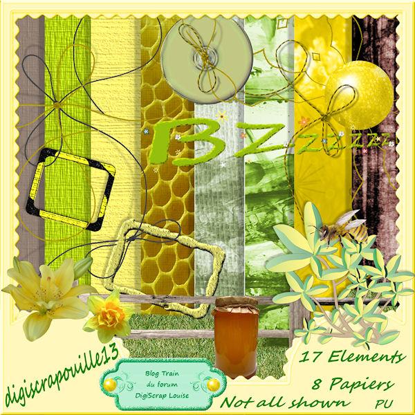abeille et miel sucré Previe17