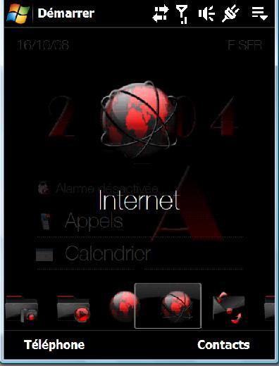 Theme noir et rouge Ecran511