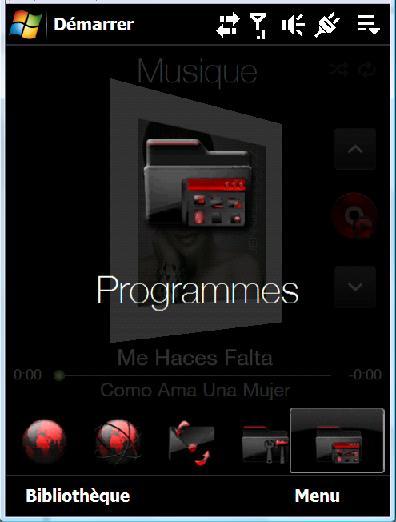 Theme noir et rouge Ecran611