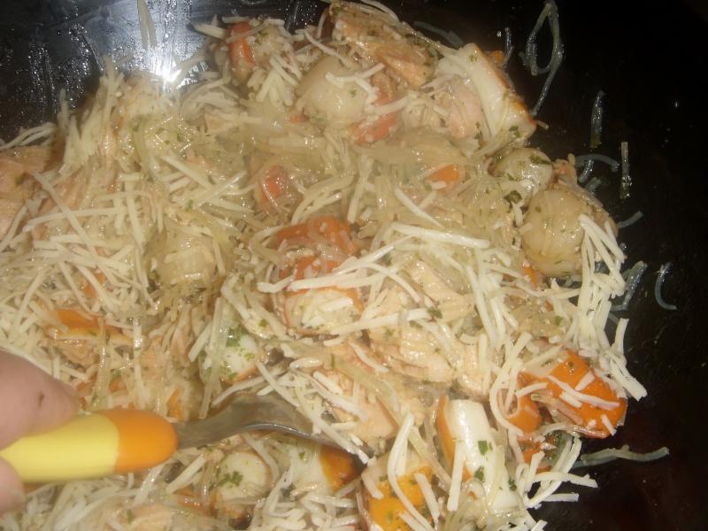 Briwattes ou Briouates marocaines au saumon Pastil16