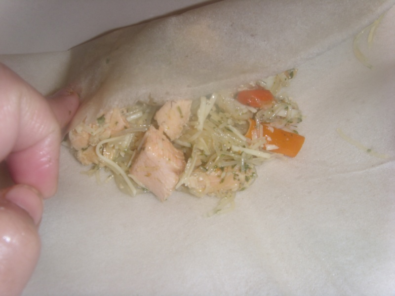 Briwattes ou Briouates marocaines au saumon Pastil18