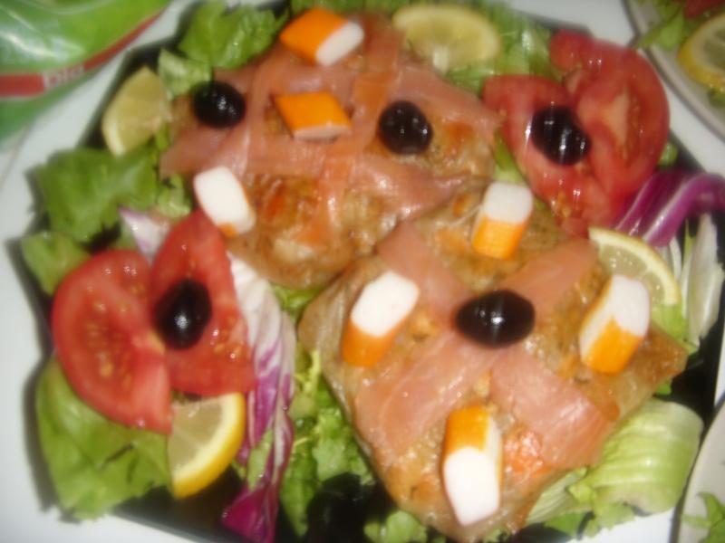 Mini-Bastilla marocaine carrées au saumon cuites sans four Pastil27