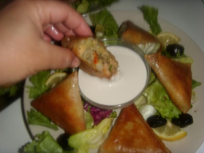Briwattes ou Briouates marocaines au saumon Pastil32
